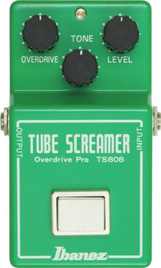 Ibanez TS808 Vintage Tube Screamer Reissue Overdrive Pedal