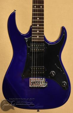 Ibanez GRX20Z - Jewel Blue   Ibanez Gio Electric Guitars - Northeast Music Center Inc.