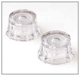PRS GUITARS CLEAR LAMPSHADE KNOBS