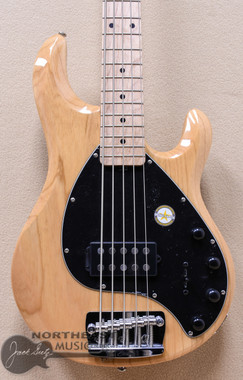 Sterling by Music Man Ray5 in Natural on Swamp Ash w Maple neck (RAY5_NATURAL)