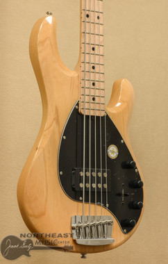 Sterling Ray35 5 String Bass - Natural | Ernie Ball Music Man Stingray - Northeast Music Center