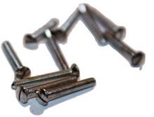 64 Chromonica Mouthpiece Screws (10 pcs)