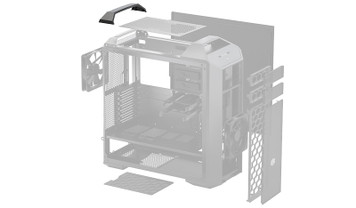 MasterCase Rear handle cover