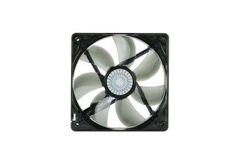 120mm Red LED Fan On/Off (2)