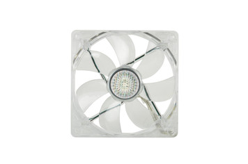 120mm Red LED fan