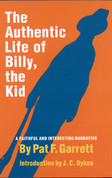 The Authentic Life of Billy, by Pat F. Garrett