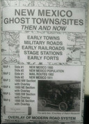 New Mexico Ghost Towns/Sites Then and Now