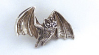Bat Flying Pendant