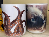 Your photo or artwork on a 15 oz mug