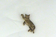 British Shorthair Pendant 14k