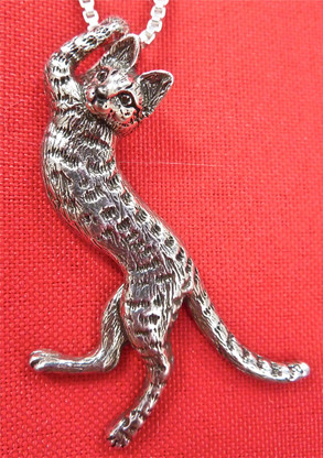 Savannah Cat Pendant