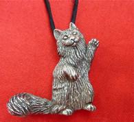 Norwegian Forest Cat Pendant
