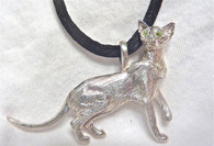 Oriental Shorthair Cat Pendant