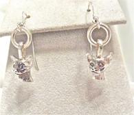 Siamese Earrings Sterling