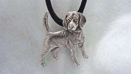 Beagle Dog Pendant