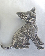 Chihuahua Pendant Sterling