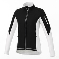 White/Black Women's Sonoma Hybrid Knit Jacket