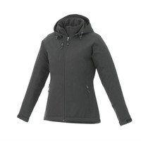 Charcoal Women's Bryce Insulated Softshell Jacket