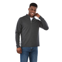 18612 Stratton Men's Knit Quarter Zip