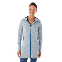 Invictus Heather, Model - Elevate 98210 Odell Knit Zip Hood | imprintables.ca