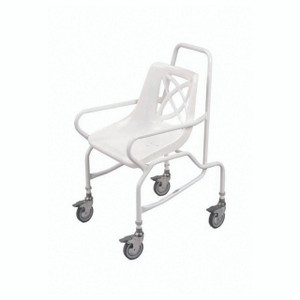 Mobile Shower Chair with Braked Castor AMSC01