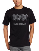 AC/DC Back In Black T-Shirt Black