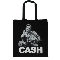 Johnny Cash Tote Bag - The Bird