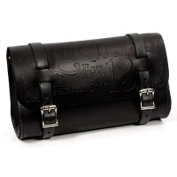 Lucky 13 Black Leather Tool Pouch