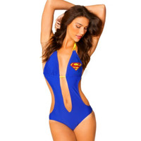 DC COMICS Superman Girl Beach Monokini
