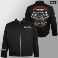 LUCKY 13 Racing Death Lined Chino Jacket