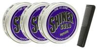 Shiner Gold 4 Oz Psycho Hold Pomade 3 Pack