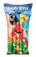 Bestway ANGRY BIRDS Beach Pool Swimming Aid Inflatable Child Air Mat Floatie