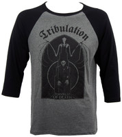 Tribulation Bat Raglan T-Shirt