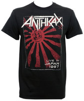 Anthrax Live In Japan 87 T-Shirt