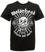 Motorhead T-Shirt - 40th Anniversary Logo Black