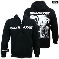 Discharge Hear Nothing Zipup Hoodie