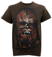 Star Wars Chewy Face T-Shirt