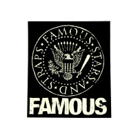 "Famous Stars & Straps White Presidential Seal 5"" Sticker Decal"
