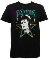David Bowie Stars Slim-Fit T-Shirt
