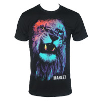 Bob Marley T-Shirt - Colored Lion