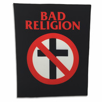 Bad Religion Classic Crossbuster Back Patch