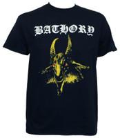 Bathory Yellow Goat Album Cover T-Shirt