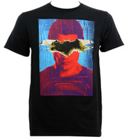 Dawn Of Justice Superman with Batman Logo T-Shirt