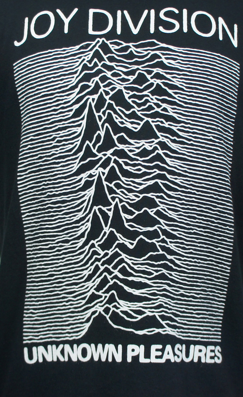 joy division t shirt unknown pleasures merch2rock. Black Bedroom Furniture Sets. Home Design Ideas