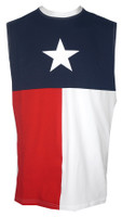 Texas Flag Sleeveless Muscle T-Shirt