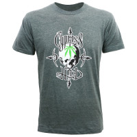 Cypress Hill Men's Pot Head Slim Fit T-Shirt Heather Charcoal