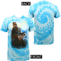 Star Wars Blue Sky Chew Tie Dye T-Shirt