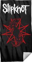 Slipknot Distressed Goat Logo Beach Towel