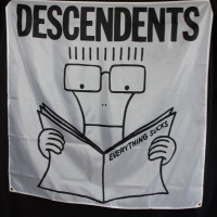 Descendents Fabric Poster Flag - Everything Sucks