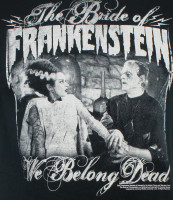 The Bride of Frankenstein T-Shirt - We Belong Dead